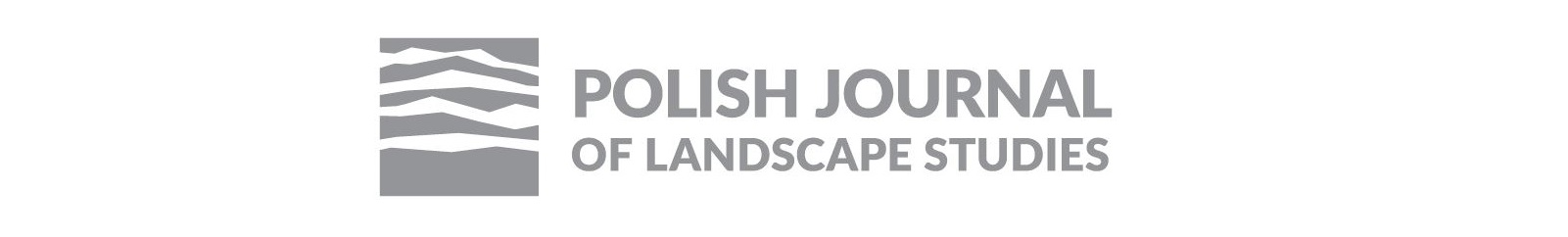 Polish Journal of Landscape Studies