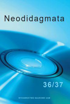okładka Neodidagmata